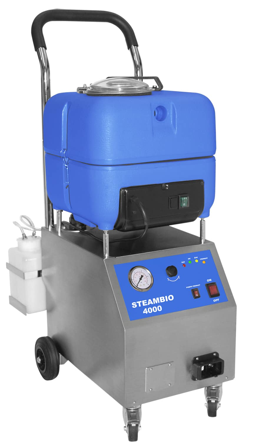 Nettoyeur vapeur aspirateur professionnel | Steambio 4000