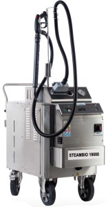 STEAMBIO 19000: industrielle Steam Cleaner