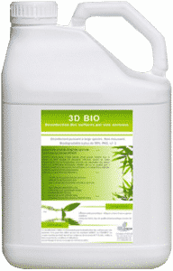3d Bio Product Degreaser and alkaline disinfectant for foam cannon