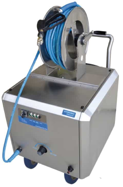 HYDROBIO - Reinigung mit sehr niedrigen Verbrauch von Wasser