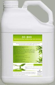 3d bio produit dégraissant et désinfectant alcalin pour canon à mousse