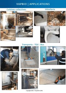 IBL Specifik | Nettoyeur vapeur professionnel | VAPBIO | Applications