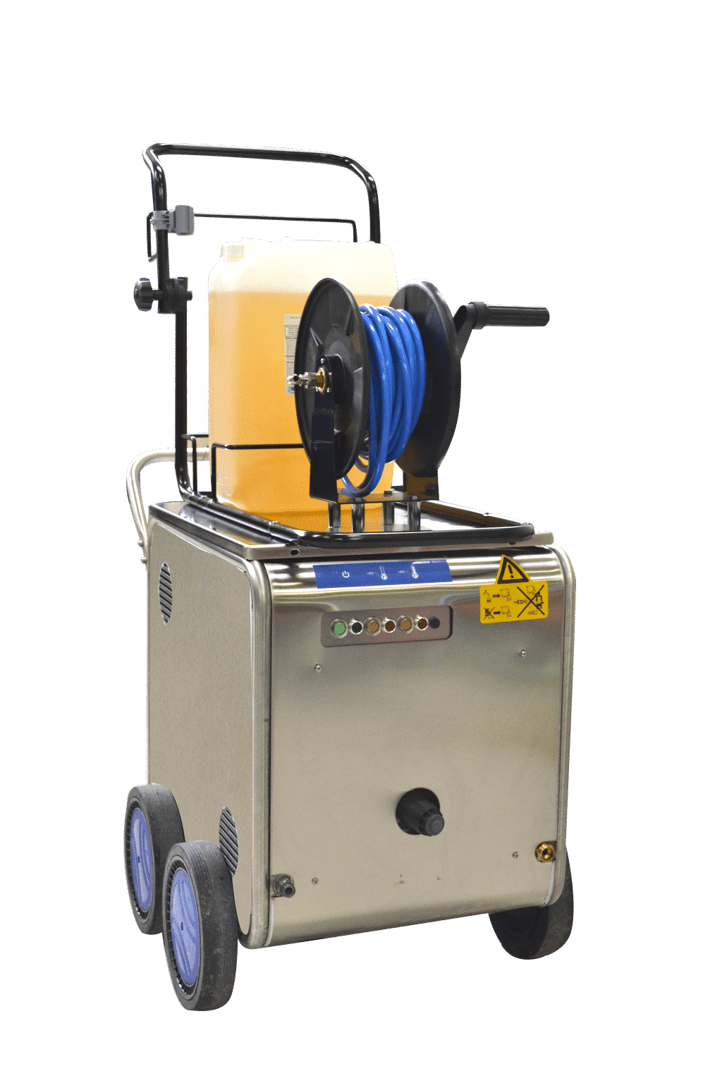 High pressure and high TEMERATURE cleaner